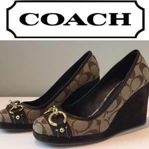Coach wedges Super In